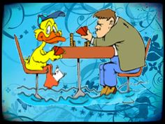 LOL...... Gambling Duck.