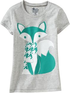 Old Navy | Girls Foil-Graphic Tees