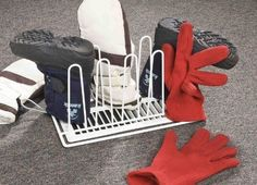 Mitt And Boot Drying Rack