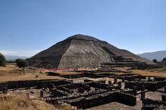 Temple du Soleil - Cité archéologique de Teotihuacán au #Mexique #Teotihuacan