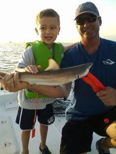 Baby Black Tip caught off Anclote with Means Of Egress™. All this young angler wanted to do was catch sharks and boy did we. 5 years old and he schooled me on shark behavior.