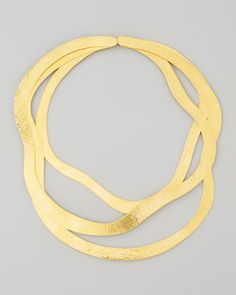 Vibrations 3-Piece Necklace by Herve Van Der Straeten at Neiman Marcus |