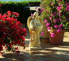 Solar Powered Angel w/Wings Fountain by Smart Solar