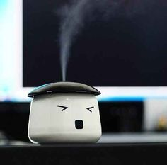A desk humidifier.   22 Ingenious Products That Will Make Your Workday So Much Better