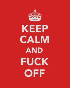 "Usually not a fan of the ""Keep Calm and"" signs, but love this one :)"