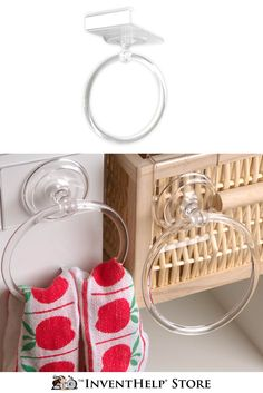Featured on QVC, the portable Towel Butler can latch onto any area in the kitchen! See now at inventhelpstore.com.