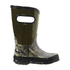 Bogs: Kids Hunting Rain Boot Toddler/Little Kid/Big Kid (Mossy Oak) Toddler Rain Boots, Rain And Snow Boots, Winter Boots, Rubber Rain Boots, Bogs Boots, Hunting Boots, Waterproof Boots, Big Kids, Footwear