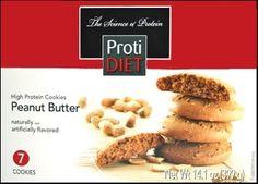 Bariatric Diet Supplements - ProtiDiet Peanut Butter Cookie (7 Servings/Box), $10.99