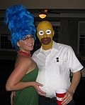 The Simpsons Costume for Couples - 2011 Halloween Costume Contest