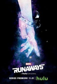 Marvel Runaways Karolina Dean Poster aka Lucy in the Sky Showing off Alien Look When Bracelet Breaks, Runaways Trailer Breakdown - DigitalEntertainmentReview.com