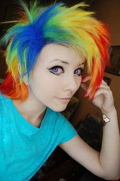 Rainbow Dash by ~Helen-Stifler on deviantART