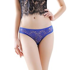 Sexy Underwear Inkach Women Sexy Lace Briefs Panties Thongs Gstring Lingerie Underwear Blue -- Want to know more, click on the image.
