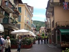 Beautiful town of Stresa in Lake Maggiore