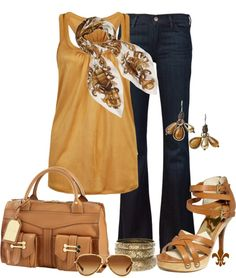 """Mustard"" by hatsgaloore ❤ liked on Polyvore"