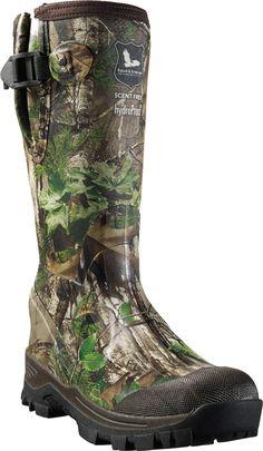 Field Stream Women S Swamptracker Waterproof Rubber Hunting Boots