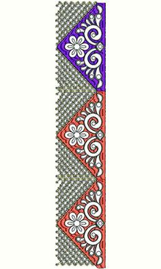 8497 Lace Embroidery Design