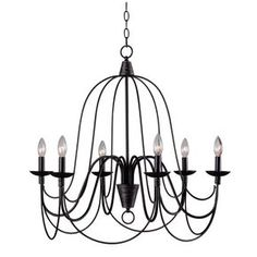 You'll love the Petra 6-Light Candle Chandelier at Joss & Main - With Great Deals on all products and Free Shipping on most stuff, even the big stuff.