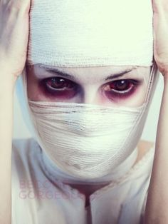 Scary Mummy Makeup