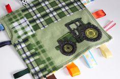 John Deere Taggie Blanket