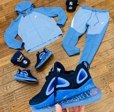 2 nike tech fits with vapormaxes Cute Nike Outfits, Dope Outfits For Guys, Swag Outfits Men, Stylish Mens Outfits, Sporty Outfits, Casual Summer Outfits, Boy Outfits, Hype Clothing, Mens Clothing Styles