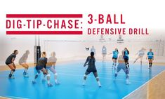 Our videos of volleyball defense drills can help get your team to the next level. At any level, learning new volleyball team defense drills is valuable. Volleyball Workouts, Volleyball Quotes, Volleyball Gifts, Coaching Volleyball, Girls Softball, Volleyball Players, Girls Basketball, Basketball Cheers, Basketball Court