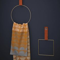Handtuchhalter selber machen Look at these beautiful and minimalistic towel holders! You can even make them yourself, it& a fantastic interior DIY. The post Handtuchhalter selber machen appeared first on Barbara Ritchie.