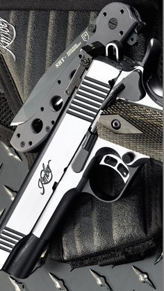 KIMBER MFG. - 1911 ECLIPSE CUSTOM II LG 45 ACP 5IN 45 ACP HANDGUN PISTOL FIREARM GUN STAINLESS 8+1RD