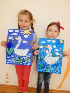 Best 11 Art video for kids to teach them how to draw, paint and Kindergarten Art, Preschool Crafts, Winter Crafts For Kids, Diy For Kids, Drawing For Kids, Painting For Kids, Swan Painting, Art Videos For Kids, 2nd Grade Art