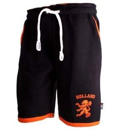 Typisch Hollands Jogging Sweat Shortie - Holland - Leeuw