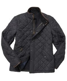 MEN'S BARBOUR POWELL QUILTED JACKET