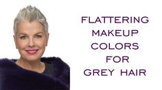 Best Color Eyeliner And Mascara For People With Gray Hair - Best Color Eyeliner And Mascara For People With Gray Hair and Flattering Makeup Colors For Grey Hair - - Auto Vehicle Grey Hair Old, Grey Hair Over 50, Silver Grey Hair, Silver Color, Grey Hair And Makeup, Blue Eye Makeup, Makeup For Brown Eyes, Hair Makeup, Colorful Eyeshadow