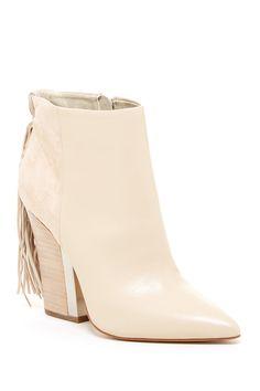 0414bfcca418 The perfect ivory bootie. Sam Edelman Mariel Fringe Boots Garra