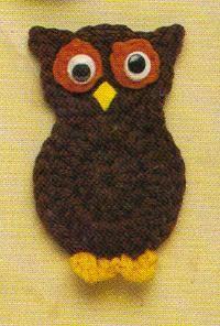 Free Crochet Owl Magnet Pattern