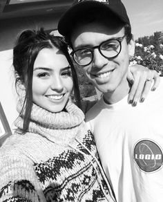 Logic and his wife Jessica Andrea.