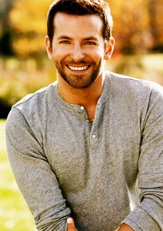 Bradley Cooper! My husband will have certain teeth I know bcuz I have a strange attraction to them lol. ♥