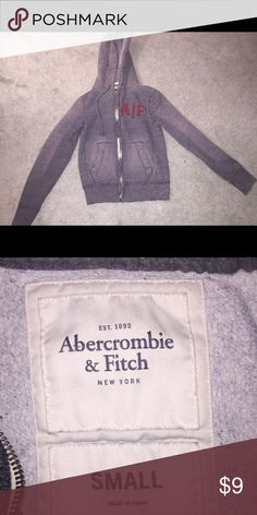Abercrombie & fitch hoodie Can be worn for men or women. THE LIGHT AREAS ON THE HOODIE IS FROM THE FLASH ON MY PHONE. IT DOES NOT LOOK LIKE THAT IRL AND IS IN NEW CONDITION! Tops Sweatshirts & Hoodies