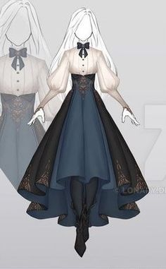 Character Art, Victorian, Cosplay, Writing, Dresses, Fashion, Characters, Sketches, Sketch