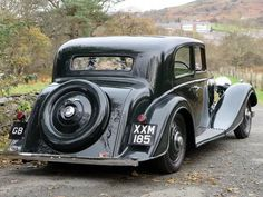 1937 Bentley 4 1/4 Litre Kellner Pillarless Sports Saloon B97HM