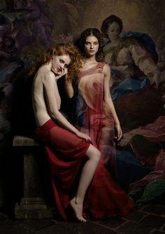 Tears mistresses by Andrey Yakovlev Lili Aleeva, via Behance