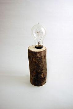 Cut Timber Lamp