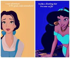 Belle and Jasmine