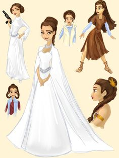 Disney Princess Leia by Celerybandit on DeviantArt