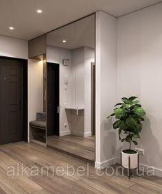 Entrance Hall Decor, House Entrance, Entryway Decor, Built In Wardrobe Designs, Wardrobe Design Bedroom, Apartment Interior, Apartment Design, Room Interior, Interior Doors