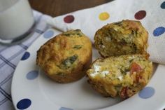 These corn muffins make a refreshing change for breakfast, the cornmeal gives a delicious crunchy bite to this savoury option.
