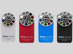 Capinha de iPhone da Helga com nove filtros para a lente