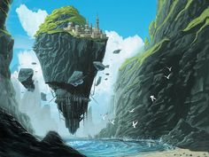 Floating-fortress by strngbroda.deviantart.com on @deviantART