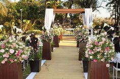 Idéias de decoração de casamento ao ar livre