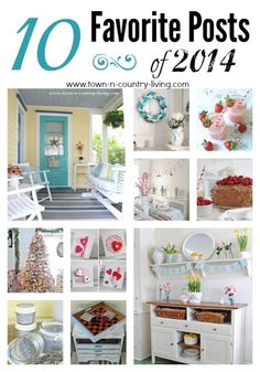 Top Posts of 2014 from Town and Country Living
