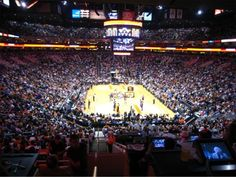 US Airways Center in Phoenix, AZ. One of the few NBA games I've seen.