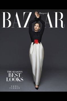 Can'T wait for @harpersbazaar #SeptemberIssue   BAZAAR's New Funny Face: Emma Ferrer